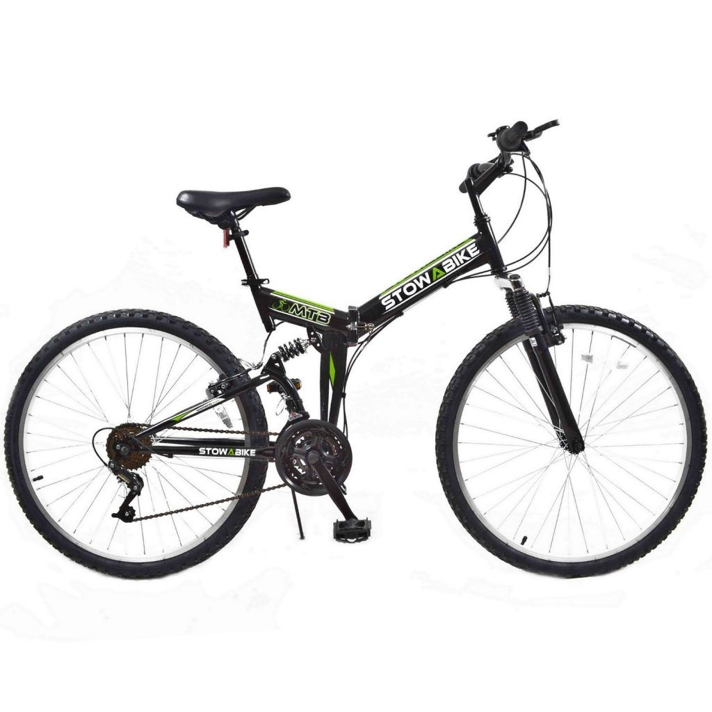 Stowabike 26 Folding Dual Suspension Mountain Bike Review